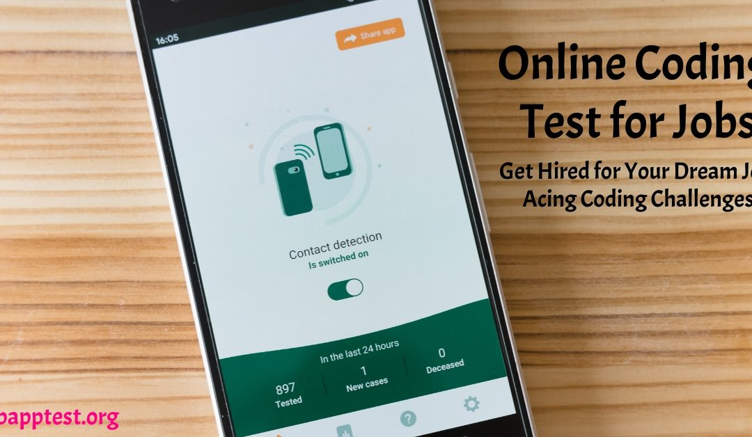 Online Coding Test for Jobs: Get Hired for Your Dream Job Acing Coding Challenges
